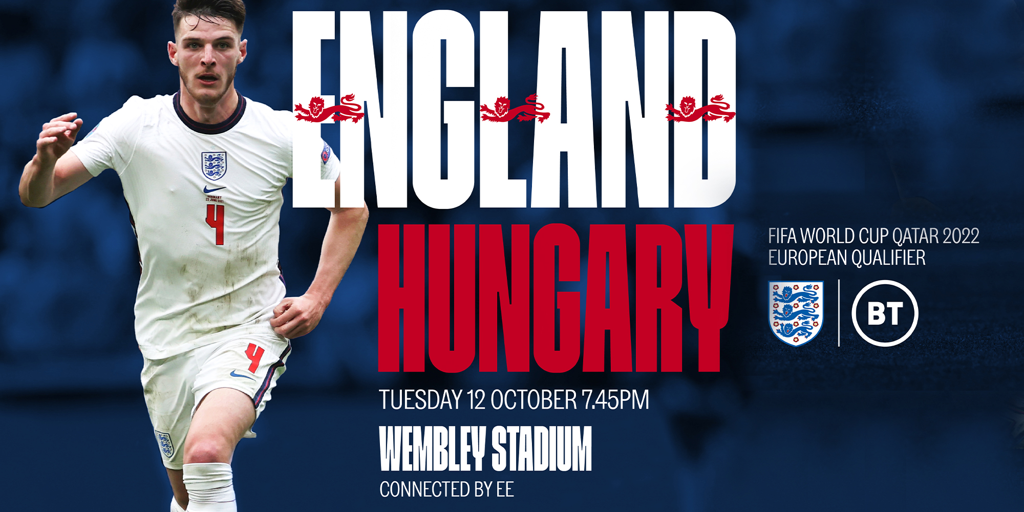 England v Hungary - 2022 FIFA Men's World Cup Qualifier