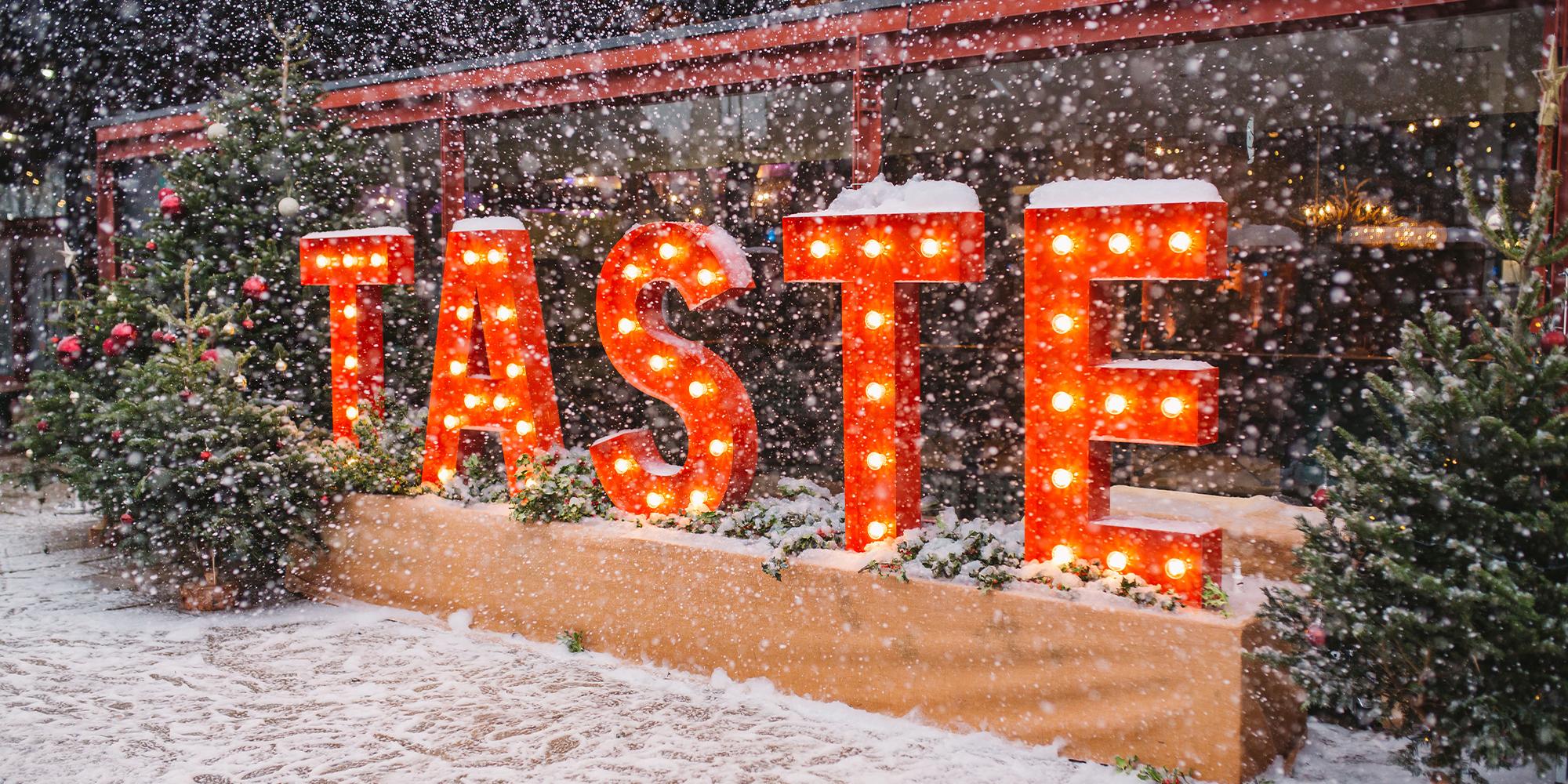 Taste of London - Festive Edition