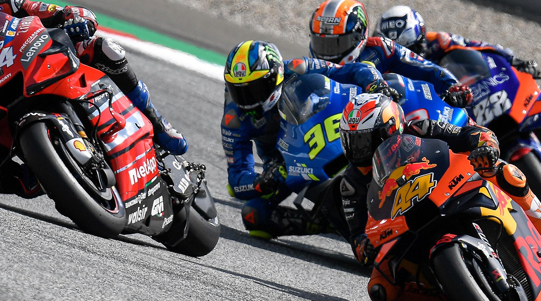 British Grand Prix MotoGP - Race Day