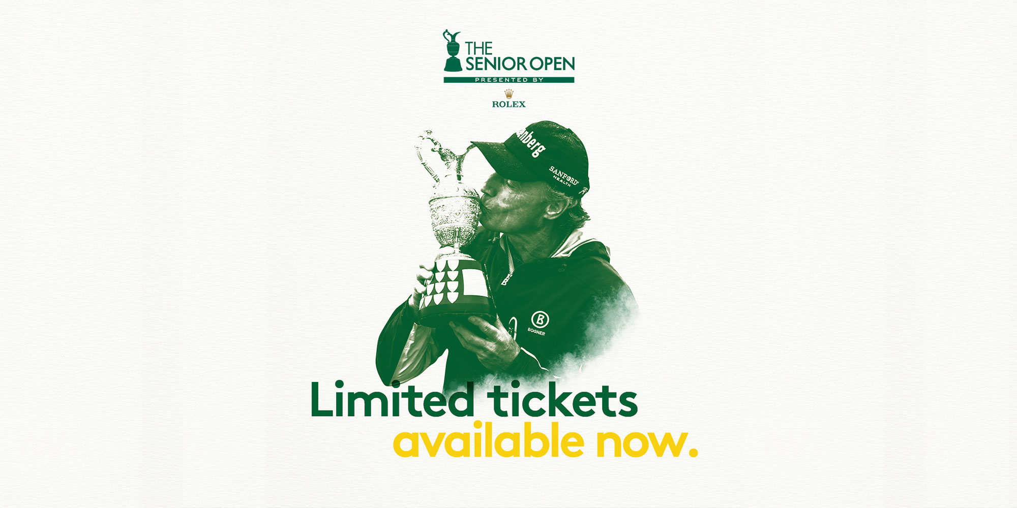 The Senior Open Presented by Rolex - Wednesday