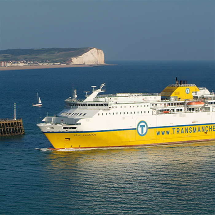 Newhaven - Dieppe Return Ferry Crossing with Vehicle