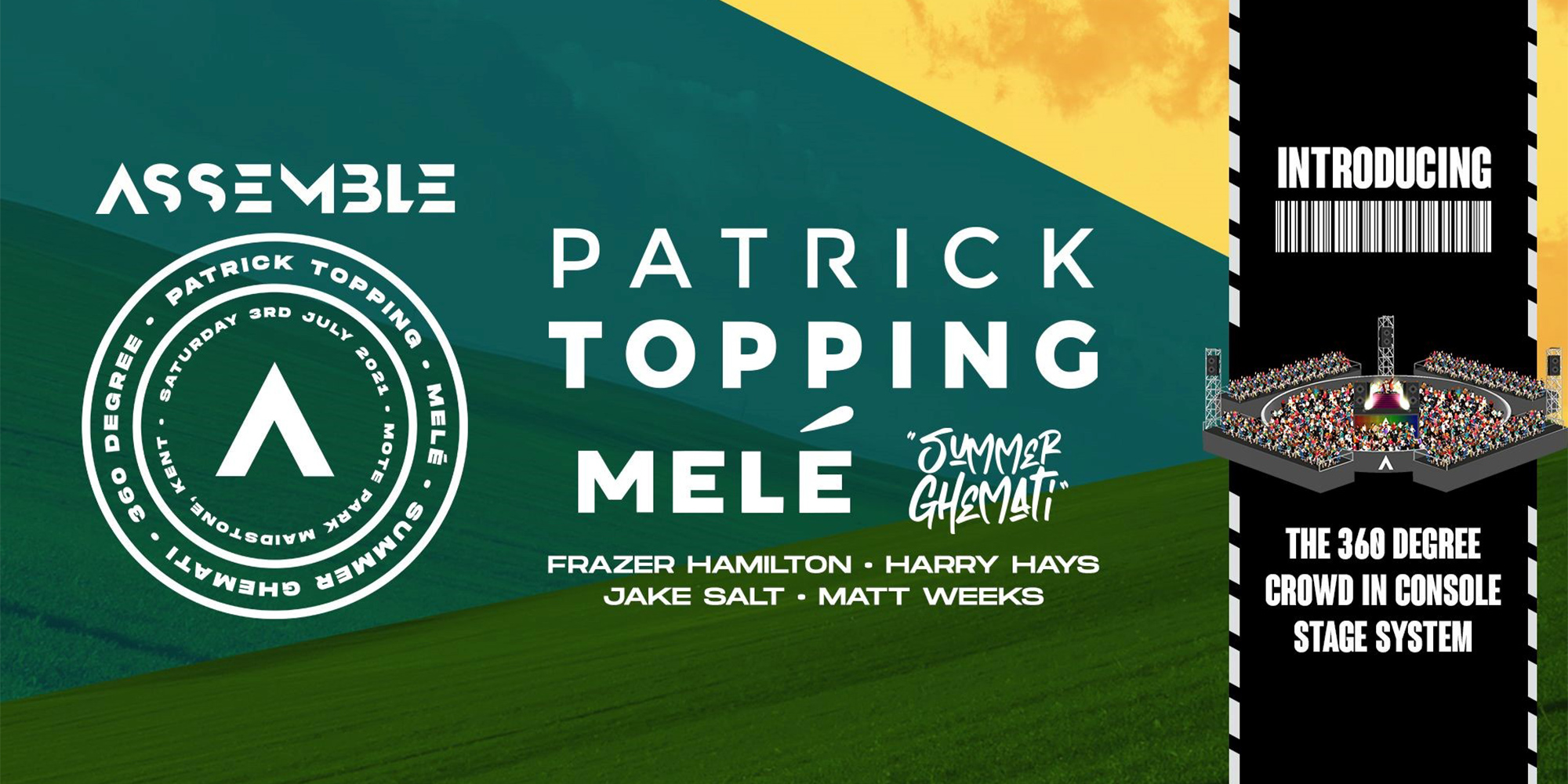 Assemble Festival Presents: Patrick Topping, Melé and more!