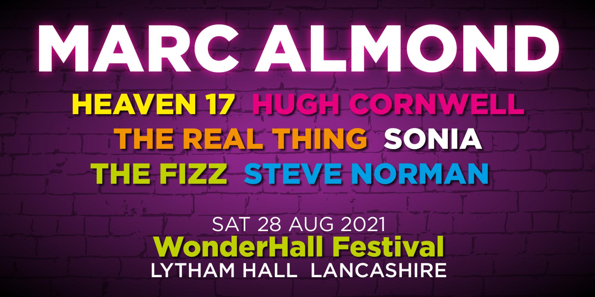 Wonderhall: Marc Almond