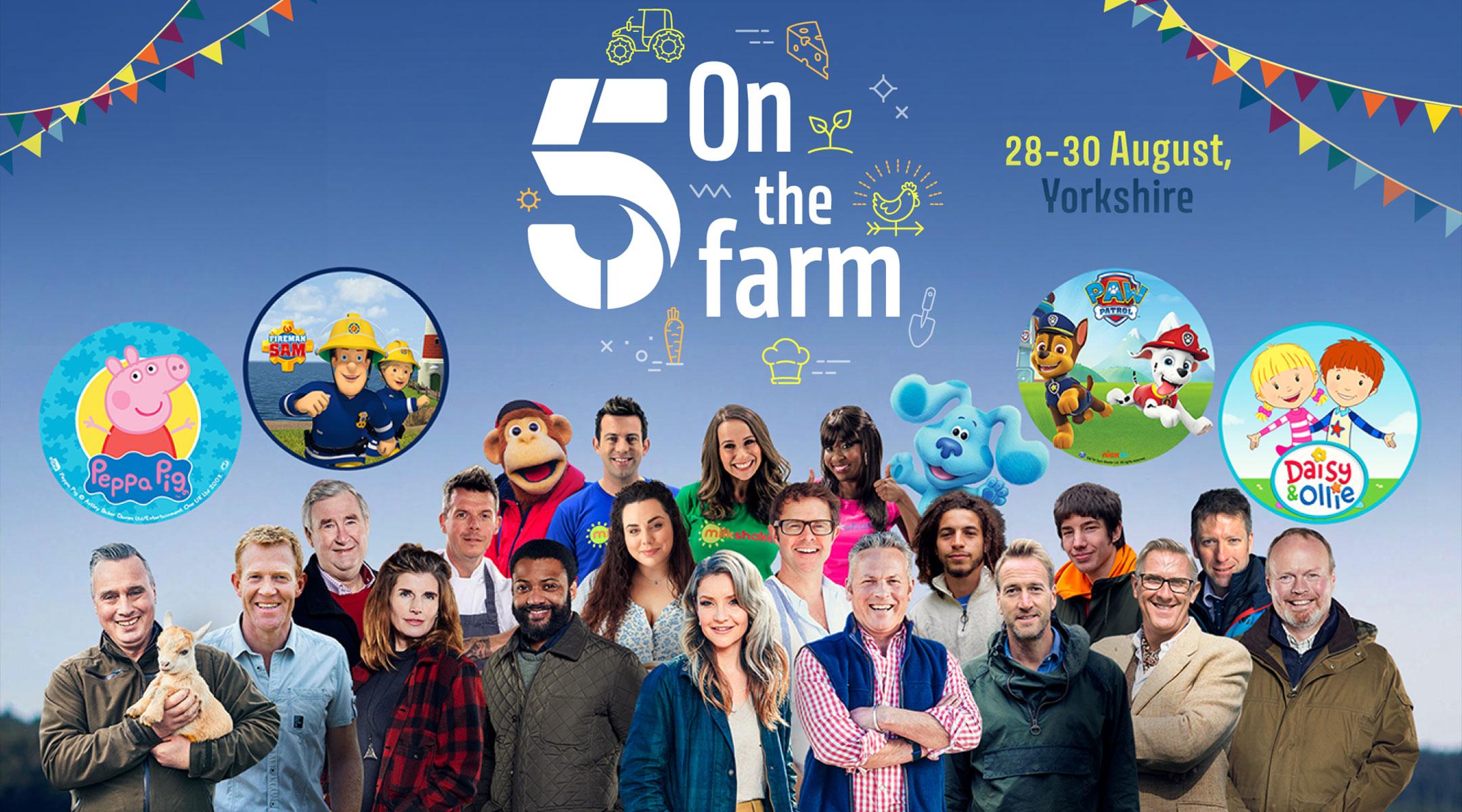 5 on the Farm Festival- Sunday