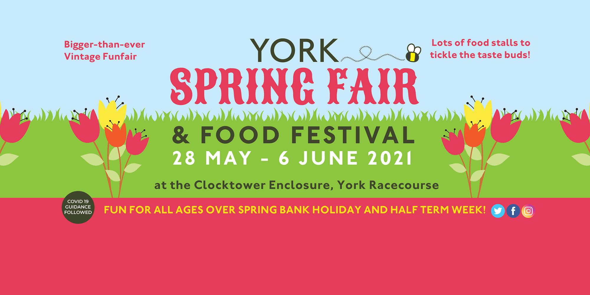 York Spring Fair & Food Festival at York Racecourse