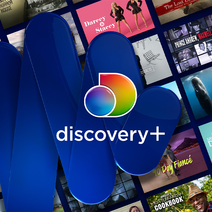 A gift from discovery+ to all Blue Light Card holders